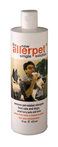 Allerpet Single Solution (Allerpet 10016 Single Solution for Pets 16oz by Allerpet)