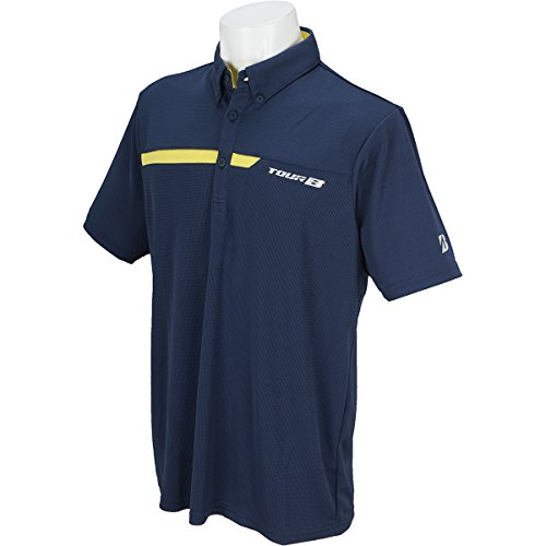 ブリヂストン TOUR B 半袖シャツ?ポロシャツ 半袖ボタンダウンポロシャツ