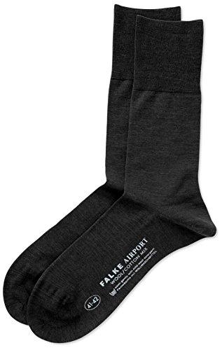 Falke 14435 - Calcetines para hombre, tamaño 47 / 48 Anthracite-Melange (Anthracite-Melange)