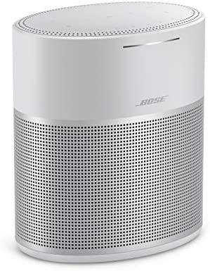 Bose Home Speaker 300: Bluetooth Smart Speaker with Amazon Alexa Built-in, Silver