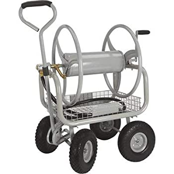 Strongway Hose Reel Cart with 4 Wheels