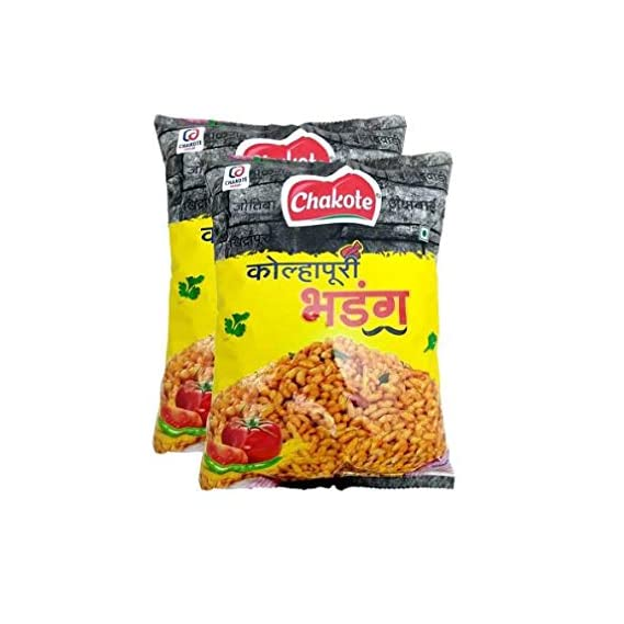 Bhavani Foods Chakote Kolhapuri Bhadang (Buy 1 GET 1 Free), 250 g Each