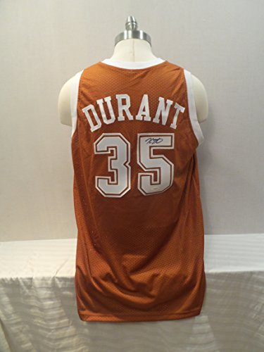Kevin Durant Signed Texas Longhorns Autographed Custom Men XL Jersey