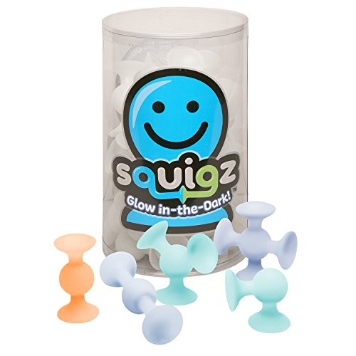 NEW Squigz Glow-in-the-Dark Squigz Suction Building Toy - 24 Piece Set