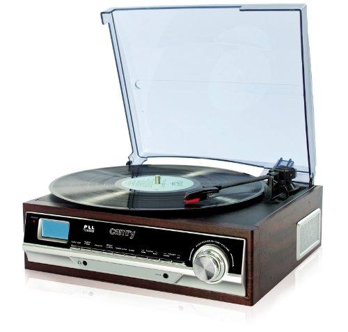 Plattenspieler Schallplattenspieler PLL Radio Retro Holz Nostalgie AUX IN (mit und ohne Aufnahmefunktion) (Plattenspieler ohne Aufnahmefunktion)