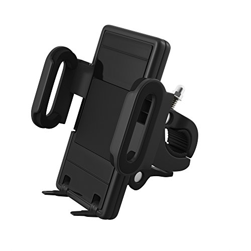 Satechi Universal Car Holder & Mount for iPhone 6 Plus/6/5S/5C, iPod Touch 5G/4G, Samsung Galaxy S6/S6 Edge/S5/S4, Note 5/4, LG G4, Nexus 6P/5X, HTC One M9/M8, Lumia 950, OnePlus 2/One, on Windshield & Dashboard (Bike Holder)