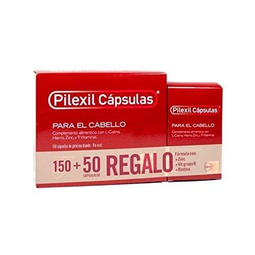 Pilexil Cápsulas para el cabello 150 + 50 cápsulas de regalo ...