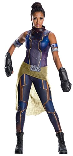 Rubie's Women's Deluxe Shuri Costume, As Shown, Extra-Small