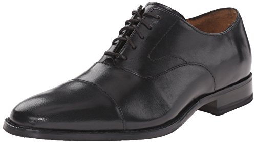 Cole Haan Men's Garrett Grand Cap OX Oxford, Black, 8.5 M US - Cole Haan Cap Toe