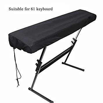 Xcellent Global Piano Keyboard Dust Cover for 61-Key Keyboard with Elastic Cord HG269