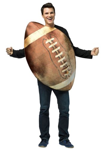Rasta Imposta Get Real Football, Brown, One Size
