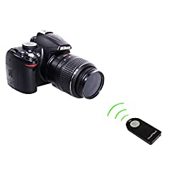 Foto&Tech 2 PCS FTML-L3 Wireless Remote-Nikon D7500 D750 D7200 D7100 D7000 D610 D600 D3400 D3300 D3200 D5500 D5300 D5200 D5100 D5000 D60 D70 D80 D90/COOLPIX P900 P7800 P7700 P7100 A/1 J1 J2/1 V1 V2 V3