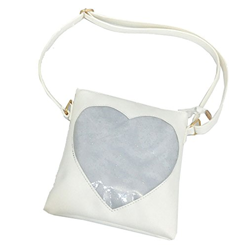 White Cute Kids for Wallet handbags Girls Bag Purses Shoulder Satchel Crossbody Little Girls Heart xwvPnqBORO