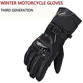 Amazon.com: ILM Alloy Steel Motorcycle Riding Gloves Warm