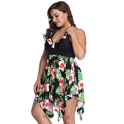 Women Nylon Watermark Skirt Swing Size Sexy Swimsuit Split Size Swimsuit Suit