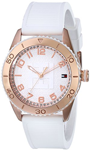tommy hilfiger women 39 s 1781121 rose gold plated watch import it all. Black Bedroom Furniture Sets. Home Design Ideas