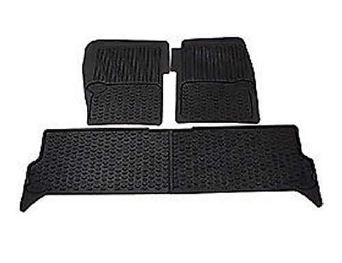 LAND ROVER DISCOVERY 2 99-04 RUBBER FLOOR MATS SET STC50048AA NEW BRITPART - Land Rover Discovery Rubber