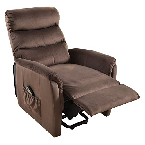 COLIBROX--Electric Lift Chair Recliner Reclining Chair Remote Living Room Furniture New. lift recliners for elderly. lift chair recliner medicare. electric recliner chair. amazon power recliners. by COLIBROX (Image #3)