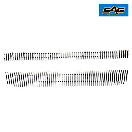 EAG 05-06 Chevy Silverado Billet Grille Aluminum Polished 8mm Vertical Bar ()