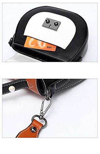 Tote Messenger sac Satchel main supérieure à Package Shoulder poignée Femmes Crossbody Bag White Saddle xPBgqHwgZ0