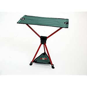 Byer of Maine TriLite Folding Camp Stool, Lightweight, Easy Setup, Packs Down Small for Easy Transport, Fits Most Carry On Luggage, [Regular/XL]
