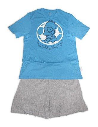 Tex-Ass - Pijama - para hombre azul S