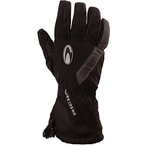 - Richa Tundra Leather/Textile Waterproof Motorbike Motorcycle Gloves Black S