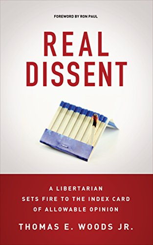 Real dissent a libertarian sets fire to the index card of allowable opinion real dissent a libertarian sets fire to the index card of allowable opinion by fandeluxe Image collections