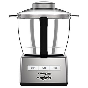 Magimix Patissier 6200 XL 1500W 4.9L Cromo - Robot de cocina (4,9