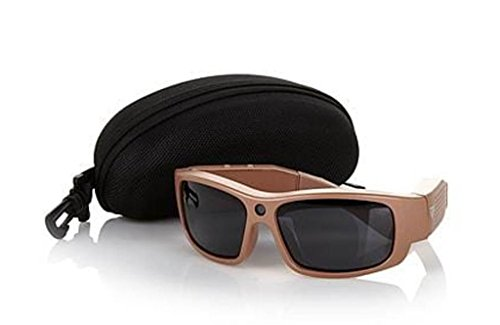 - GoVision Polarized HD Video-Capture Sunglasses with Still Camera, Carrying Case and 4GB microSDHC Card - Titanium