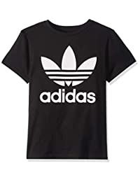 adidas Originals Unisex-Child Trefoil Tee Shirts & Tees