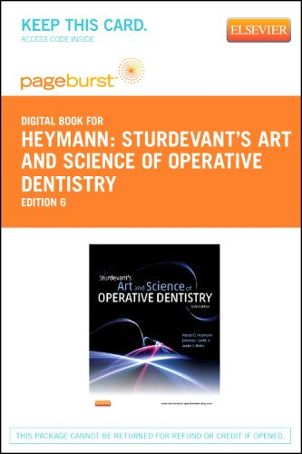 Sturdevant's Art and Science of Operative Dentistry - Elsevier eBook on VitalSource (Retail Access Card), 6e
