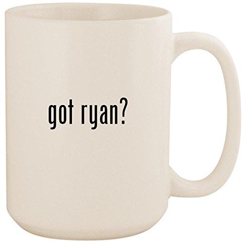 got ryan? - White 15oz Ceramic Coffee Mug Cup