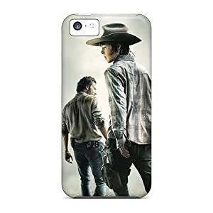 LJF phone case iphone 4/4s Case, Premium Protective Case With Awesome Look - The Walking Dead 2014