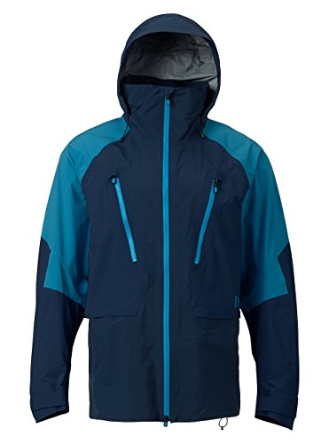(Burton Men's AK 3L Freebird Jacket, Mood Indigo/Mountaineer,)