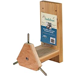 Woodlink NASQSPIN Audubon Squirrel 3 Ears Corn Holder