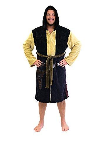Star Wars Han Solo Fleece Costume Robe (One Size)]()