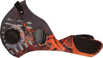 RZ Mask Dust Mask, Gender: Mens/Unisex, Size: XL, Distinct Name: Digi Orange, Primary Color: Orange 83061