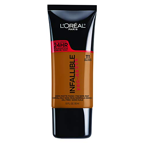 L'Oréal Paris Infallible Pro-Matte Foundation, Soft Sable, 1 fl. oz.