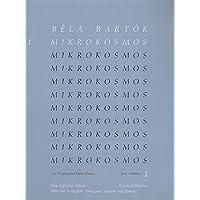 Mikrokosmos Vol. 1 Piano