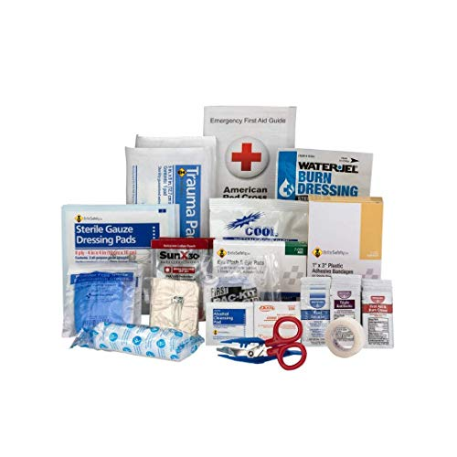 25 Person Contractor ANSI A+ Refill | First Aid Kit OSHA Compliant 2018 - Trauma Kit First Aid Kit Refill Emergency Aid Kit ()