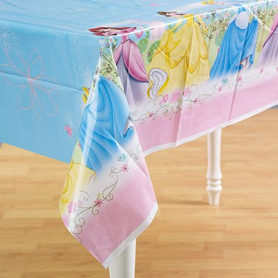 Disney Princess 'Fairy-Tale Friends' Plastic Table Cover -