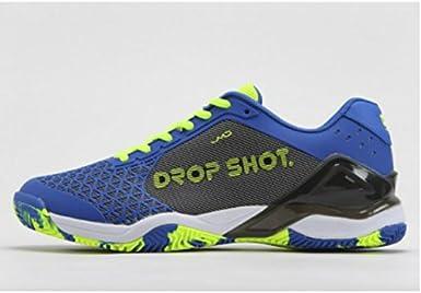 DROP SHOT Conqueror Tech Blue Zapatillas, Hombre: Amazon.es: Ropa ...