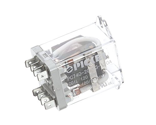 Duke 115330 Dpdt Relay, 40 Amp, 120 VAC Coil