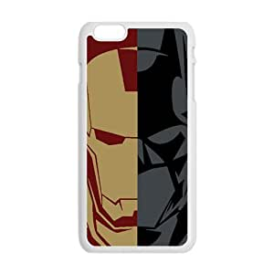 Batman and Iron Man Cell Phone Case for Iphone 6 Plus