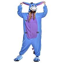 Sunrise Adults Donkey Halloween Costumes Onesie Kigurumi Pajamas Cosplay
