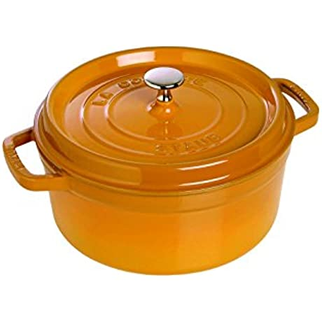 Staub Cocotte Round 7 Qt Saffron