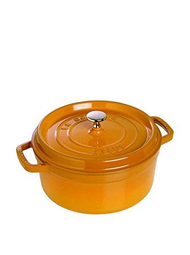 Staub Cocotte Round 7 Qt. Saffron
