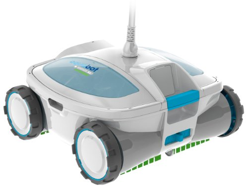Aquabot ABREEZ4 X-Large Breeze with Scrubbers Robotic Pool Cleaner for Above-Ground and In-Ground Pools