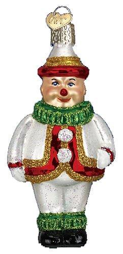 Old World Christmas Jolly Clown Glass (Clown Glass Ornament)
